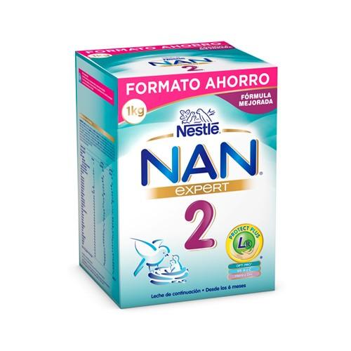 NAN EXPERT 2 PREPARADO LACTEO INFANTIL 1000 G