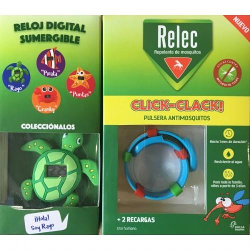 RELEC PULSERA CLICK TORTUGA