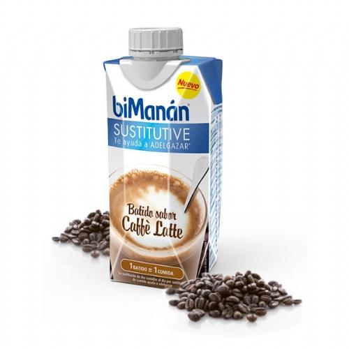 Bimanan sustitutive batido de cafe con leche (330 ml)