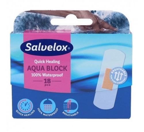 SALVELOX CURA RAPID AQUA BLOCK - APOSITO ADHESIVO (72 X 25 MM 18 TIRAS)