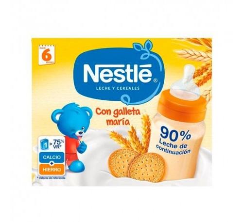 Nestle papilla galleta lista para tomar (2 envases 250 ml)