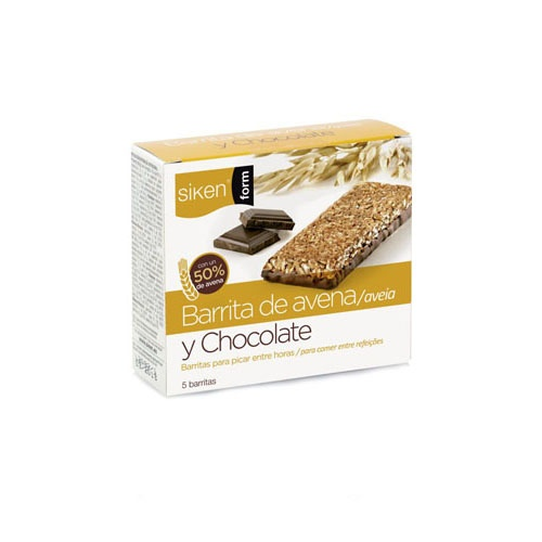 SIKEN FORM BARRITA (AVENA Y CHOCOLATE 5 BAR 30 G)