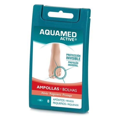 AQUAMED ACTIVE AMPOLLAS - APOSITO HIDROCOLOIDE (T- PEQ 8 APOSITOS)