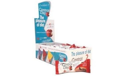 CONTROL DIET BARRITAS NUTRITIVAS (24 U SABOR GALLETAS)