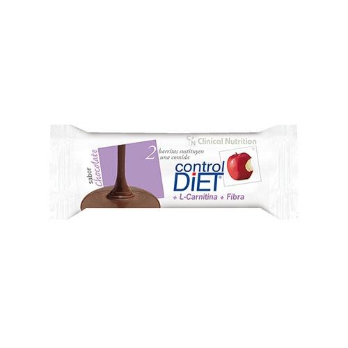 CONTROL DIET BARRITAS NUTRITIVAS (24 U CHOCOLATE)