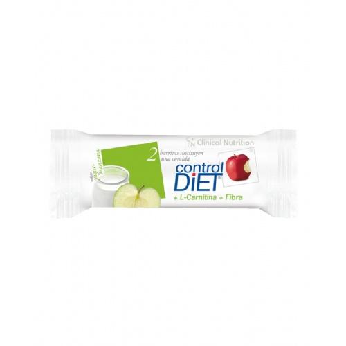 CONTROL DIET BARRITA (10 U YOGUR MANZANA)