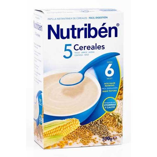 NUTRIBEN 5 CEREALES (300 G)