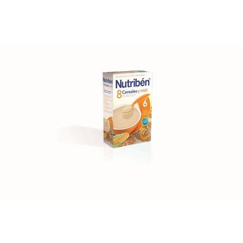 NUTRIBEN 8 CEREALES Y MIEL (600 G)
