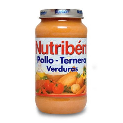 NUTRIBEN POLLO TERNERA VERDURA (POTITO GRANDOTE 250 G)