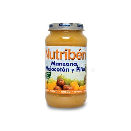 NUTRIBEN MANZANA MELOCOTON Y PIÑA (POTITO GRANDOTE 250 G)
