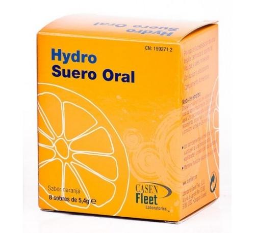 Hydro suero oral (8 sobres 5.4 g)