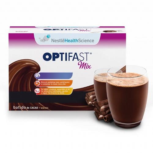 Optifast mix batido (27 g 7 sobres sabor cacao)
