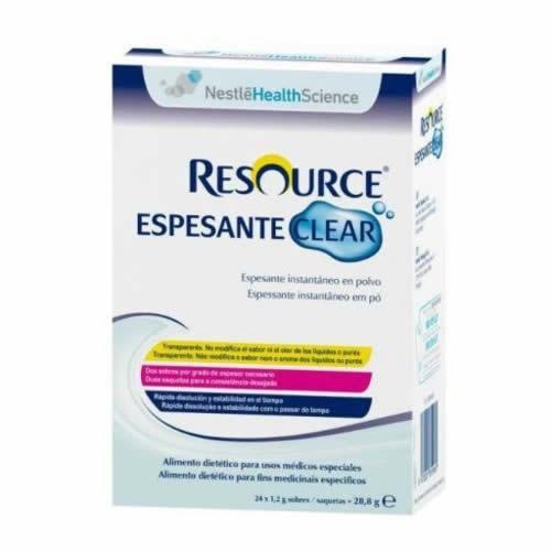 Resource espesante clear (24 sobres neutro)