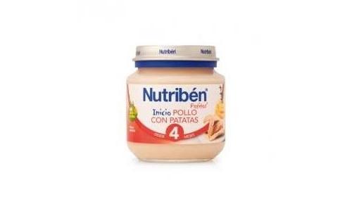 NUTRIBEN POLLO CON PATATAS (POTITO INICIO 130 G)