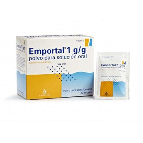 EMPORTAL 10 g  POLVO PARA SOLUCION ORAL , 20 sobres