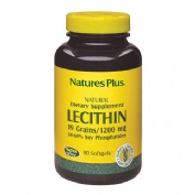Nature´s plus lecitina de soja (1200 mg 90 perlas)
