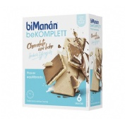 BIMANAN SNACK CHOCOLATE C LECHE (SABOR YOGUR 20 G 6 BISCUITS)