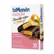 BIMANAN BARRITA CHOCOLATE NEGRO Y NARANJA (320 G 40 G X 8 U)