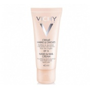 Ideal body crema de manos y uñas spf 20 (1 envase 40 ml)