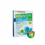 Arkovital doble magnesio bio (30 comp)
