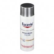 EUCERIN ANTIEDAD HYALURON FILLER CC CREAM (COLOR MEDIO 50  ML)