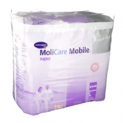 ABSORB INC ORINA LIGERA C/ SLIP - MOLICARE MOBILE SUPER (T- LARGE 14 U)