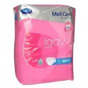 Braga incontinencia - molicare premium lady pants (7 gotas t-l 7 u)