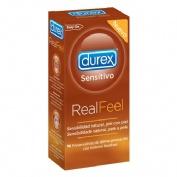 PRESER. DUREX SENSITIVO REAL FEEL 10 PRES