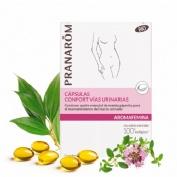 Aromafemina capsulas confort vias urinarias bio (30 capsulas)