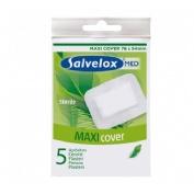 Salvelox med maxi cover - aposito esteril (5 apositos 76 mm x 54 mm)