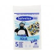 Salvelox med aqua cover kids - aposito adhesivo (5 apositos 76 mm x 54 mm)