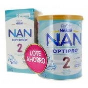 Nan optipro 2 leche de continuacion (lote 800 g + 350 g)
