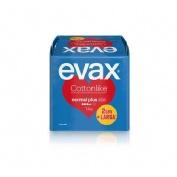 Compresas higienicas femeninas - evax cottonlike (noche con alas 14 compresas)