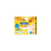 Nestle papilla 8 cereales con miel - lista para tomar (2 bricks 250 ml)