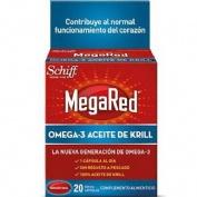 MEGARED 500 OMEGA 3 ACEITE DE KRILL (20 CAPSULAS)
