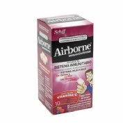 AIRBORNE (INMUNODEFENSAS) COMP MASTICABLES (FRUTOS DEL BOSQUE 32 COMP)