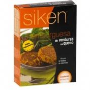 SIKEN DIET HAMBURGUESA DE VERDURAS CON QUESO (26 G 3 SOBRES)