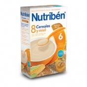 NUTRIBEN 8 CEREALES Y MIEL GALLETAS MARIA (300 G)