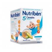 NUTRIBEN 5 CEREALES (600 G)