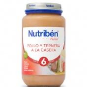 NUTRIBEN POLLO TERNERA A LA CASERA (POTITO GRANDOTE 250 G)