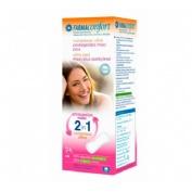 Compresas higienicas femeninas - farmaconfort ultra 2 en 1 protegeslip (maxi plus 24 u)