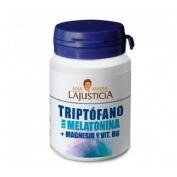 Triptofano con melatonina + magnesio y vit b6 (60 comp)