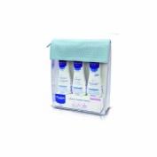 Mustela neceser basico - balsamo colonia crema gel (azul)