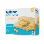 BIMANAN ENTRE HORAS CRACKERS DE QUESO (200 G 10 U)