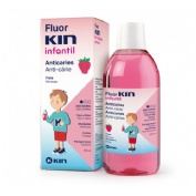 FLUOR KIN INFANTIL ENJUAGUE BUCAL (FRESA 500 ML)