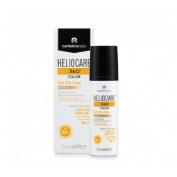 Heliocare 360º spf 50+ color gel oil-free - protector solar (bronze 50 ml)