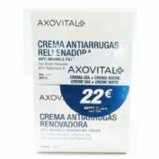 PACK AXOVITAL CREMA ANTIARRUGAS PREMIUM GOLD SPF15 (50 ML)