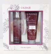 Cesta navidad - Colonia Thé de vignes ( Caudalie)  50 ml. + gel de ducha 75ml. ( Regalo)