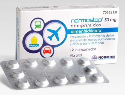 NORMOSTOP 50 MG COMPRIMIDOS , 12 comprimidos (Blister Al-Al (poliamida/Al/PVC-Al)