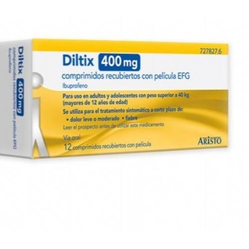 DILTIX 400 MG COMPRIMIDOS RECUBIERTOS CON PELICULA EFG 12 comprimidos